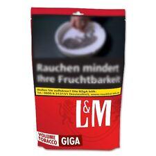 6 x L&M Red Volumen Giga-Beutel à 190 Gramm Zigarettentabak / Tabak