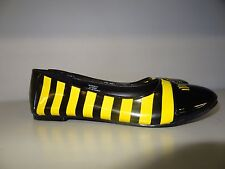 Girls Size 5 Bumblebee Flats Shoes By Funtasma *New Without Box*