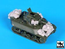 Black Dog 1/72 M3A3 Stuart Light Tank Stowage & Accessories Set (S-Model) T72087