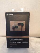 TDK IE-500 In-Ear Only Headphones - Black