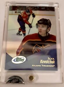 2001 eTopps Ilya Kovalchuk  Thrashers Rookie Card In Hand Factory Sealed Card!