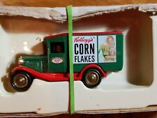 Corn Flakes old Van truck with logo and woman hard one to find