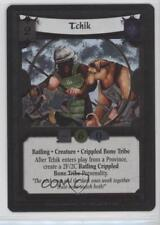 2006 Legend of the Five Rings CCG - Rise Shogun #52 Tchik (Foil) Gaming Card 0b5