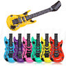 1pc Inflatable Air Guitar Blow Up Rock&Roll Kids Party Decor Swim Beach Xmas Toy