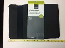 Skinny Sleeve MacBook Pro 15 Laptop Case Black