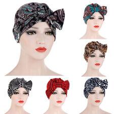 Frauen Blumensatin Nachtschlafmütze Haube Haarpflege Badehut Kopfwickel Komfort