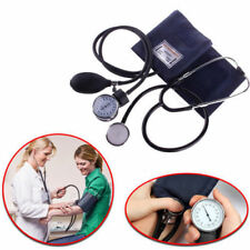 Blood Pressure Monitor Manual Stethoscope & Sphygmomanometer BP KIT Wrist Nylon