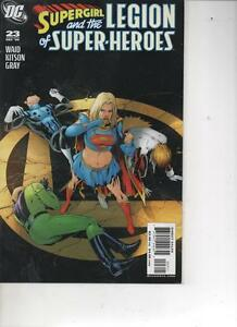 SUPERGIRL AND THE LEGION OF SUPER-HEROES 23 DEC 2006 MINT