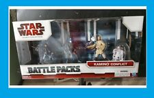 NEW Star Wars The Legacy Collection Kamino Conflict Battle Packs