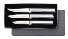 Rada Cutlery Paring Knives 3 Knife Set Plus Sharpener