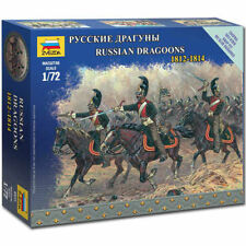 Figurines Maquettes Dragons russes 1812-1814 Zvezda Mzv