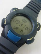 SQN100 Swatch 1999 Provider Beat Digital Alarm Light Stop Swiss Made Authentic
