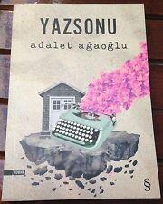 Yazsonu  Adalet Agaoglu  TURKISH Book Turkce kitap