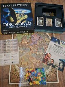 TERRY PRATCHETT Discworld Ankh-Morpork Board Game Rare - by Martin Wallace 3305