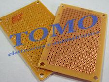 Basetta Millefori preforata 72x47mm PCB circuito stampato c.PC3