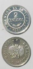 Chile 1 peso 2006 hero 16mm Alum coin UNC