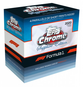 2020 Topps Chrome F1 Sapphire Edition Factory Sealed Box NEW -  IN HAND 🔥🏁