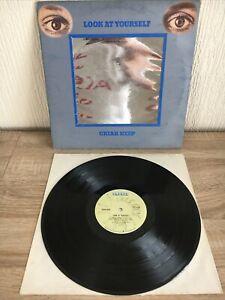 Uriah Heep Look At Yourself UK 1st Press ILPS 9169 A-1U/B-1U PORKY 1971 Vinyl LP
