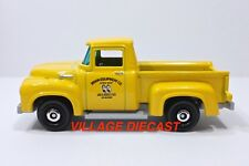 "2018 Matchbox ""Coffee Cruisers"" 1956 Ford Pickup YELLOW / MOON EQUIPMENT / MINT"