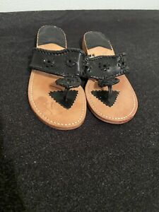 Steven Salario Sandals Black (size 8)