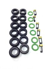 FUEL INJECTOR REPAIR KIT O-RINGS FILTERS GROMMET DODGE MITSUBISHI 3.0L V6 INP532