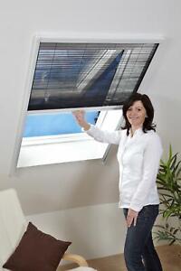 Dachfenster Plissee - Fliegengitter für Dachfenster - Insektenschutz Rollo TOP