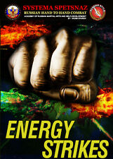 RUSSIAN MARTIAL ARTS DVD - ENERGY STRIKES - Russian Systema Hand to Hand Combat