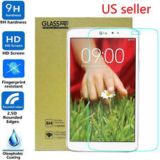 9H ULTRA CLEAR TEMPER GLASS SCREEN PROTECTOR FOR LG G PAD 8.3 V500 V510 VK810