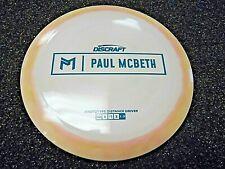 Rare Discraft Proto Esp Kong Paul Mcbeth Disc Golf Driver Prototype Offwhit 174G