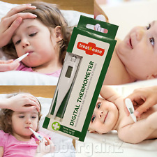 Digital Thermometer Child Medical Oral Baby Adult Body Temperature Fever LCD