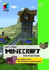 Let's Play MINECRAFT: Dein Praxis- Guide von Daniel Braun - NEU und OVP