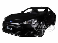 SUBARU BR-Z BLACK 1/18 DIECAST MODEL CAR BY AUTOART 78692