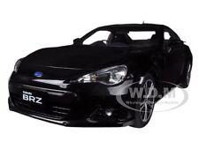 SUBARU BR-Z BLACK 1/18 DIECAST MODEL CAR BY AUTOART 78692