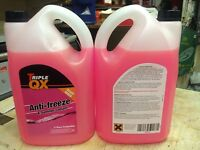 TRIPLE QX LONGLIFE RED READY TO USE ANTIFREEZE 20 LITRE 20L - FREE DELIVERY