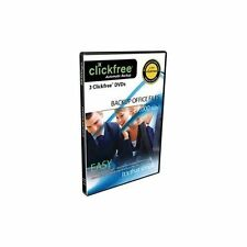 Clickfree 3 Backup DVD's Backup up to 27,000 Office Files Automatically