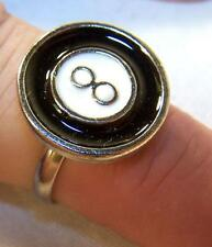 6 EIGHT BALL BILLARD RINGS #JL049 new billards pool hall novelty gift wholesale