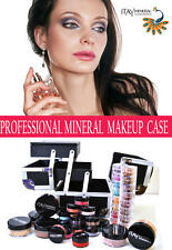 ITAY Beauty 100%  Mineral Cosmetics Professional Loaded Makeup Case Student Kit