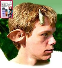 Halloween Stage Costume Latex Prosthetic Faun Ear, Mehron Spirit Gum Remover Kit