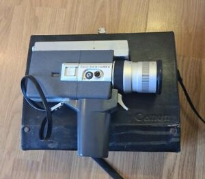Canon Zoom 518-2 Super 8 Camera With Hardshell Case Untested Sold As Seen