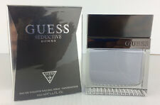 GUESS SEDUCTIVE HOMME Cologne for Men 3.4 OZ / 100 ML EDT NEW SEALED IN BOX