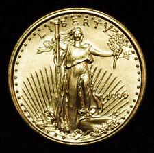 1999 - $5 1/10oz Gold American Eagle BU UNC Uncirculated -Beautiful Gold Coin PQ