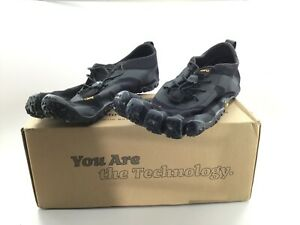 Vibram 18M7101(1) Men's V‑Alpha Black Outdoor Performance Megagrip Minimal Shoes