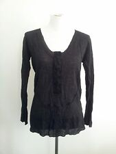 Individual Style! Marilyn Seyb size 12 black knit in excellent condition