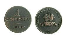 pcc1550_10) LOMBARDO VENETO  - 1 centesimo 1822 Milano