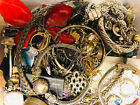 Vintage To Now Junk Jewelry Lot, Unsearched, Untested!! Small Flat Rate Box FULL