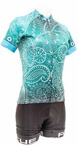 Panache Short Sleeve Cycling Kit Women XS XLARGE Teal Road Bike Gravel