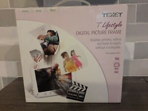 "Texet 7"" Digital Photo Picture Frame Videos MP3 -"