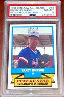 1988 AAA Randy Johnson Baseball HOFer ROOKIE Card RC PSA 8  Seattle Mariners MLB