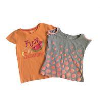 Gymboree & Justice Girls' T-Shirts Size 8 Glitter Polka Dot Fun In Sunshine