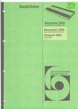 B & O Bang & Olufsen Service Manual für Beomaster 2000-3000 und Terminal 3000